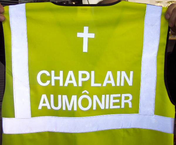 Reflective letters / lettering and logo heat transfer - iron on  letters/reflective-chaplain-aumonier-2.jpg